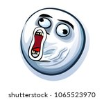internet meme. lol troll with... | Shutterstock .eps vector #1065523970