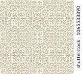 vintage ornamental background ... | Shutterstock .eps vector #1065533390