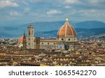 cathedral of florence  capital... | Shutterstock . vector #1065542270