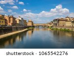 florence  capital of tuscany... | Shutterstock . vector #1065542276