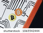 Small photo of Bitcoin currency, Mining, Veb and Internet, Gain