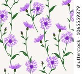 seamless floral pattern with... | Shutterstock .eps vector #1065559379