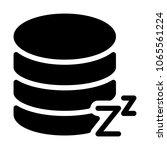 database on standby mode | Shutterstock .eps vector #1065561224