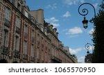 place des vosges paris france   ... | Shutterstock . vector #1065570950