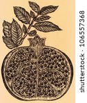 original vintage hand drawn...   Shutterstock . vector #106557368