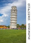 leaning tower of pisa  italy | Shutterstock . vector #1065579110
