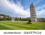 leaning tower of pisa  italy | Shutterstock . vector #1065579116