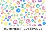 geometrical engineering... | Shutterstock . vector #1065590726