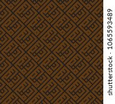 ramadan square kufic... | Shutterstock .eps vector #1065593489