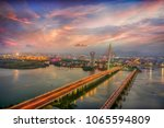 da nang  vietnam   april 10th... | Shutterstock . vector #1065594809