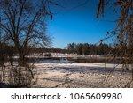wilderness around the town of... | Shutterstock . vector #1065609980