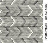 abstract monochrome chevron... | Shutterstock .eps vector #1065615809