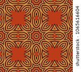 seamless striped vector pattern.... | Shutterstock .eps vector #1065616604