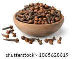 dried herb  dried cloves... | Shutterstock . vector #1065628619
