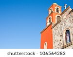detail of a mexican church ... | Shutterstock . vector #106564283