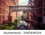 meatpacking district  new york... | Shutterstock . vector #1065648194