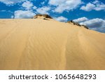 sand dunes oleshky sands with a ... | Shutterstock . vector #1065648293