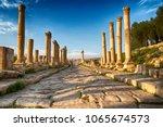 In Jerash Jordan The Antique...
