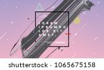 geometric abstract background... | Shutterstock .eps vector #1065675158