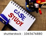word writing text case study.... | Shutterstock . vector #1065676880
