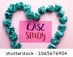 word writing text case study.... | Shutterstock . vector #1065676904