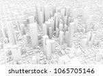 3d Rendering Of White City