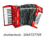 illustration of an accordion...   Shutterstock . vector #1065727709