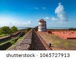 aguada fort   north goa  ... | Shutterstock . vector #1065727913