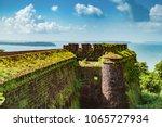 aguada fort   north goa  ... | Shutterstock . vector #1065727934