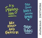 handdrawn lettering on... | Shutterstock .eps vector #1065764366