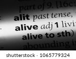 Small photo of alive word in a dictionary. alive concept.