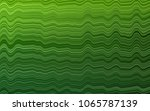 light green vector pattern with ... | Shutterstock .eps vector #1065787139