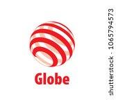 vector logo globe   Shutterstock .eps vector #1065794573