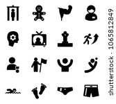 solid vector icon set   metal... | Shutterstock .eps vector #1065812849