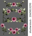 Art Nouveau Rose Design...