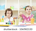 creating together | Shutterstock . vector #106582133