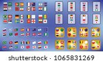 vector flags of the country.... | Shutterstock .eps vector #1065831269