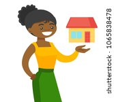 young african american real... | Shutterstock .eps vector #1065838478