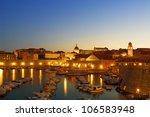 Dubrovnik At Night  Croatia