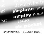 Small photo of airplay word in a dictionary. airplay concept.