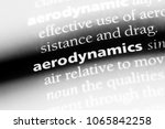 Small photo of aerodynamics word in a dictionary. aerodynamics concept.