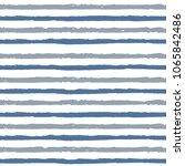 hand drawn line brush pattern | Shutterstock .eps vector #1065842486