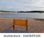 vieux boucau les bains  france  ... | Shutterstock . vector #1065859100