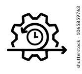 agile icon  vector illustration | Shutterstock .eps vector #1065859763