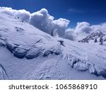 avalanche clouds fake effect in ... | Shutterstock . vector #1065868910