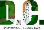 vector d.c.    american... | Shutterstock .eps vector #1065891626