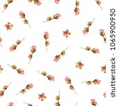 seamless floral pattern with... | Shutterstock . vector #1065900950