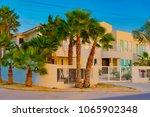 oranjestad  aruba   january 15... | Shutterstock . vector #1065902348