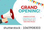 Grand opening flyer banner...