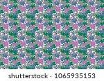 floral print. repeating raster... | Shutterstock . vector #1065935153